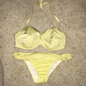 Victoria's Secret yellow bikini set